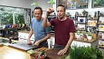 Torres en la cocina - Gazpacho de cerezas y raviolis de yema