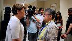 La exministra de Fomento Magdalena Álvarez y el diputado del PP Ignacio Echániz se enzarzan en la comisión sobre el accidente de Spanair