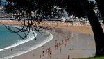 Probabilidad de chubascos tormentosos localmente fuertes en el área cantábrica, País Vasco, Navarra y norte del sistema Ibérico. Temperaturas significativamente altas en amplias zonas del valle del Ebro