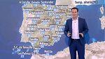 19 provincias en riesgo por lluvias, tormentas, rissagas y altas temperaturas
