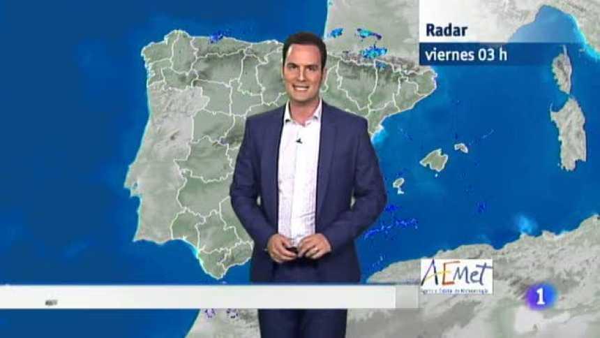 El Tiempo en Extremadura - 20/07/18