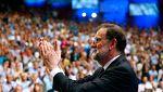 Larga ovación a Rajoy tras su despedida en el Congreso Extraordinario del PP