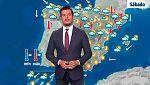 Fuertes tormentas en Cataluña y sur del Sistema Ibérico y más calor en el oeste