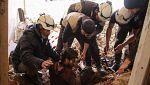 800 miembros de la ONG Cascos Blancos han sido evacuados desde el suroeste de Siria hasta Jordania a través de Israel