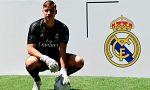 El Real Madrid presenta al portero Lunin