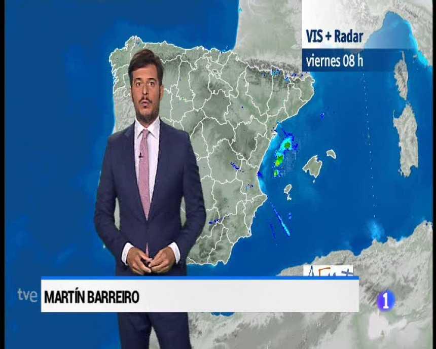 El tiempo en Andalucía - 10/8/2018