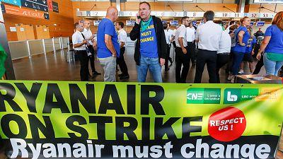 Alemania, el país más afectado por la huelga de Ryanair con 250 vuelos cancelados