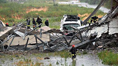 Tragedia en Génova al derrumbarse un viaducto
