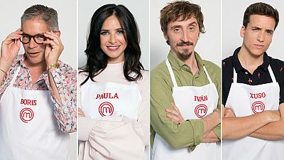MasterChef Celebrity 3 - Iván Massague, Xuso Jones, Paula Prendes y Boris Izaguirre, a las cocinas