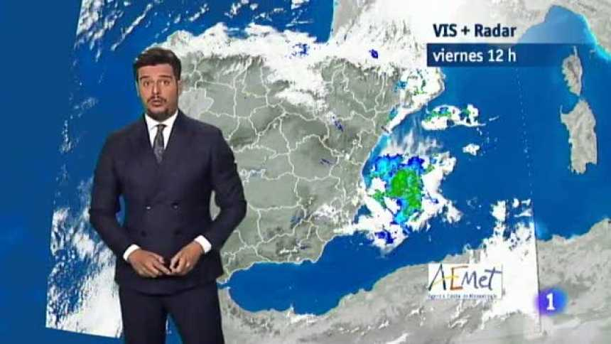 El Tiempo en Extremadura - 17/08/18