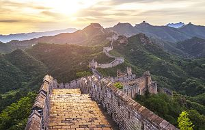China, muralla abierta