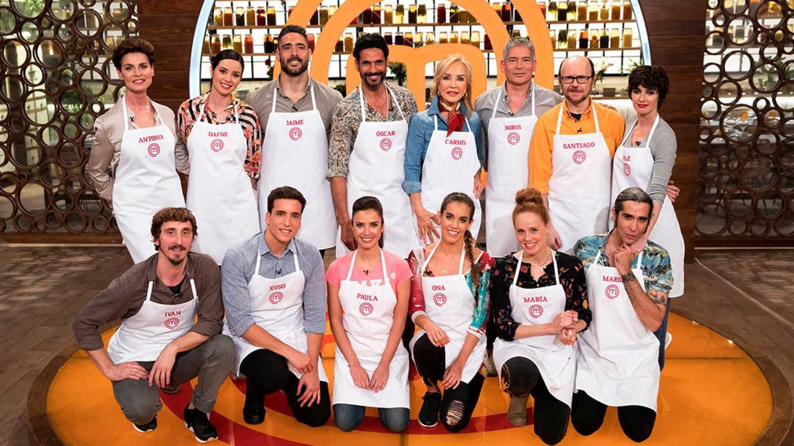 f1c9a8351 Masterchef Celebrity 3 - Programa 1 Completo - RTVE.es