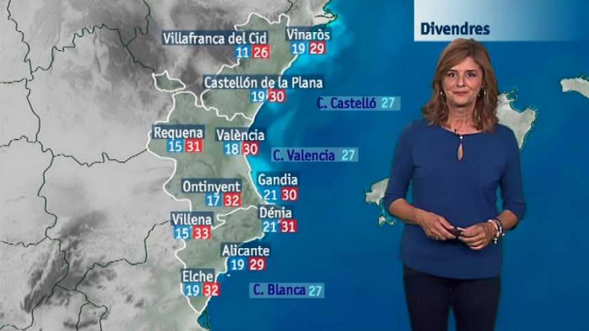 El tiempo en la Comunidad Valenciana - 20/09/18
