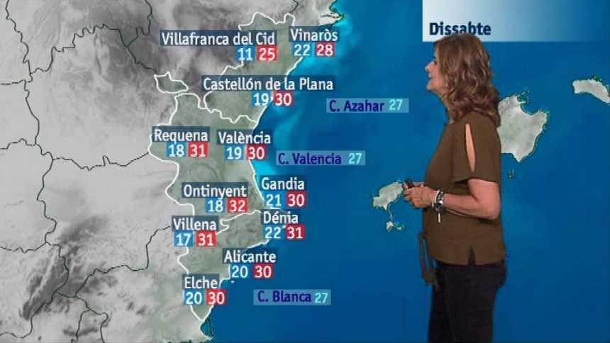 El tiempo en la Comunidad Valenciana - 21/09/18