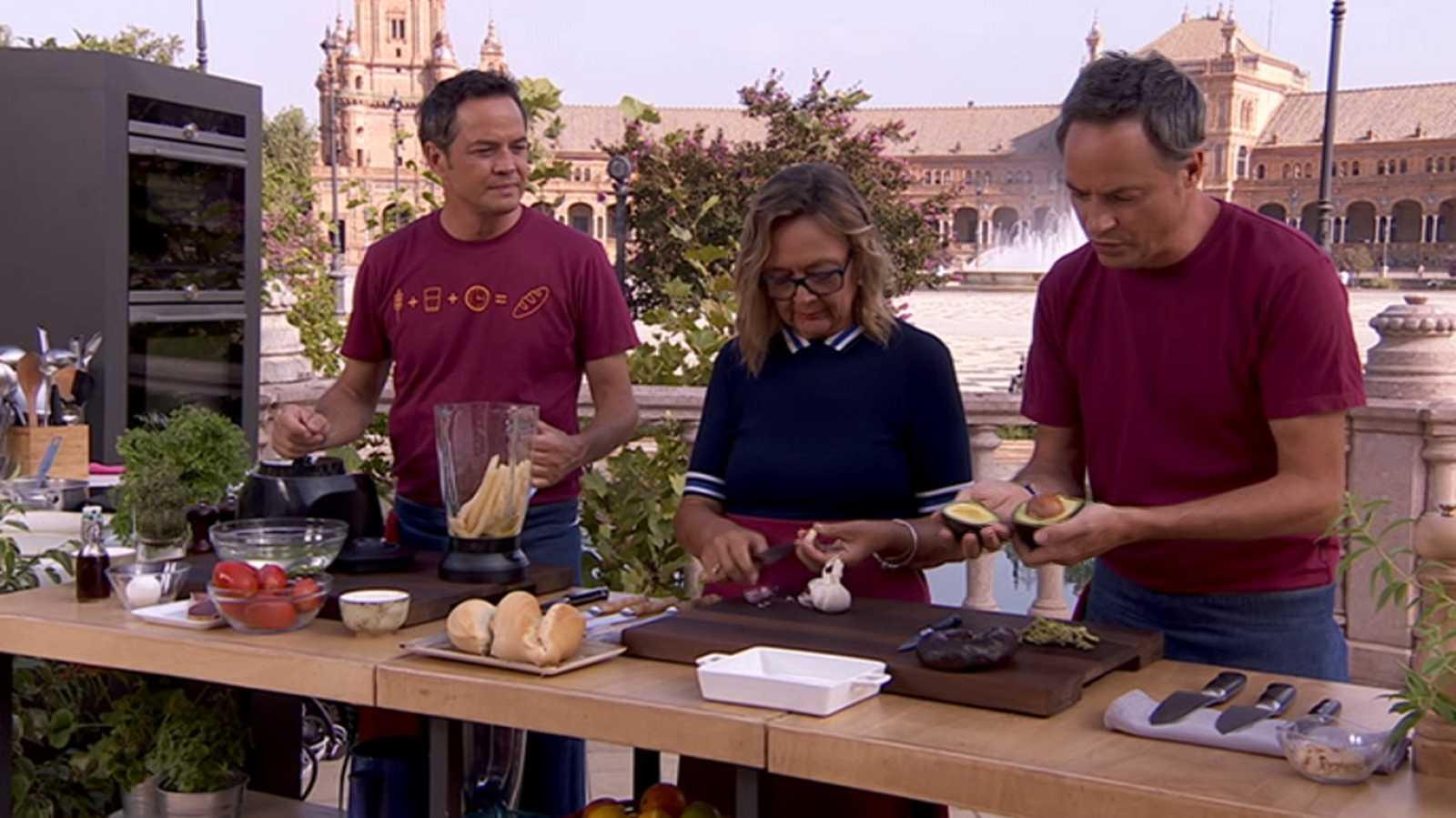Torres en la cocina - Salmorejo. Flamenquines de secreto - RTVE.es