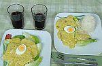 Con todos los acentos - El ají de gallina, una de las delicias de la gastronomía peruana