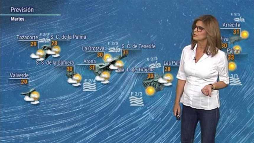 El tiempo en Canarias - 25/09/2018