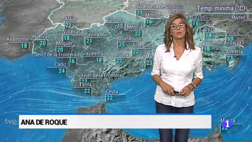 El tiempo en Andalucía - 25/9/2018