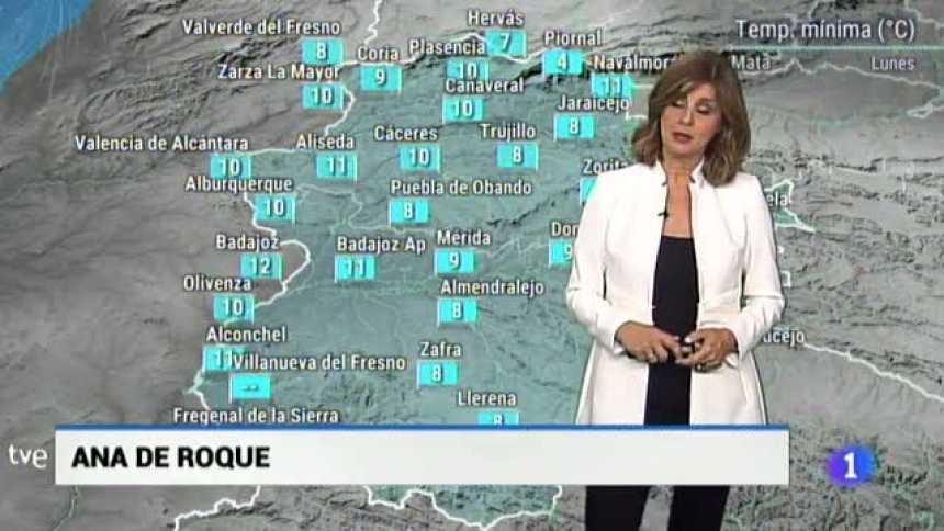 El tiempo en Extremadura - 15/10/18