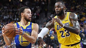 Comienza la NBA: James contra los Warriors
