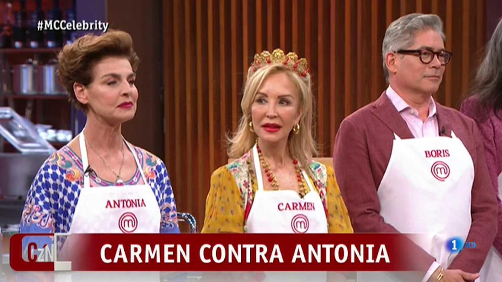 Corazón Carmen Lomana Y Antonia Dellatte La Guerra Continúa