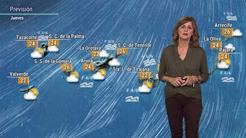 El tiempo en Canarias - 18/10/2018