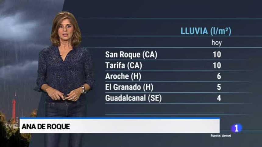 El tiempo en Andalucía - 19/10/2018