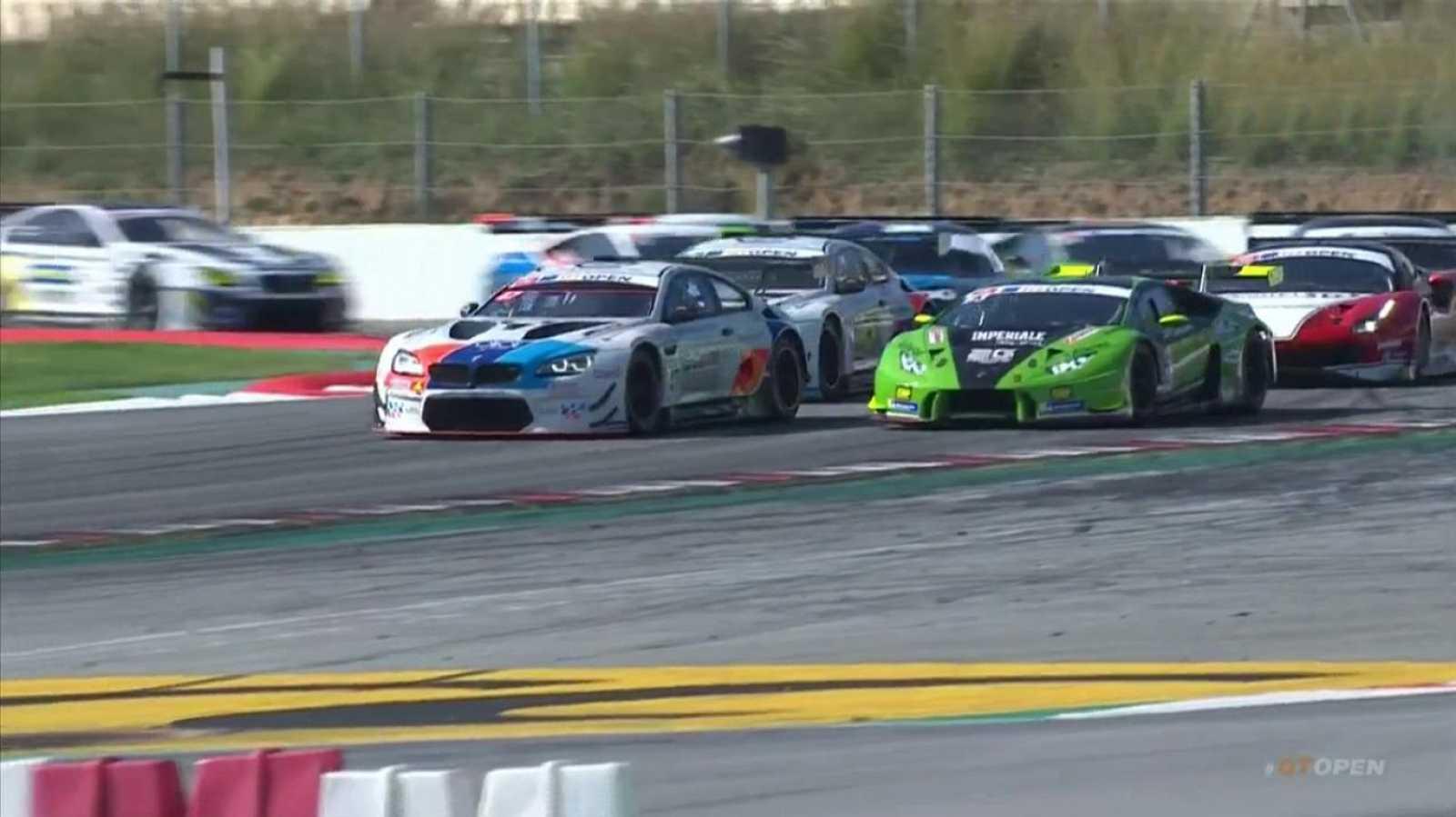 Circuito Montmelo : Automovilismo internacional gt open 2ª carrera desde circuito
