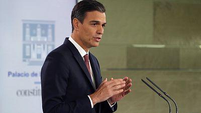 """Pedro Sánchez: """"Nunca más los españoles pagarán el impuesto de las hipotecas, pagará la banca"""""""
