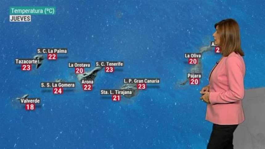 El tiempo en Canarias - 15/11/2018