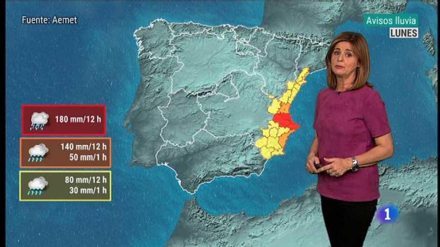 El tiempo en la Comunidad Valenciana - 19/11/18