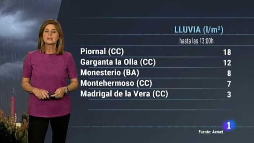 El tiempo en Extremadura - 19/11/18