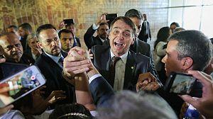Bolsonaro, el soldado de dios