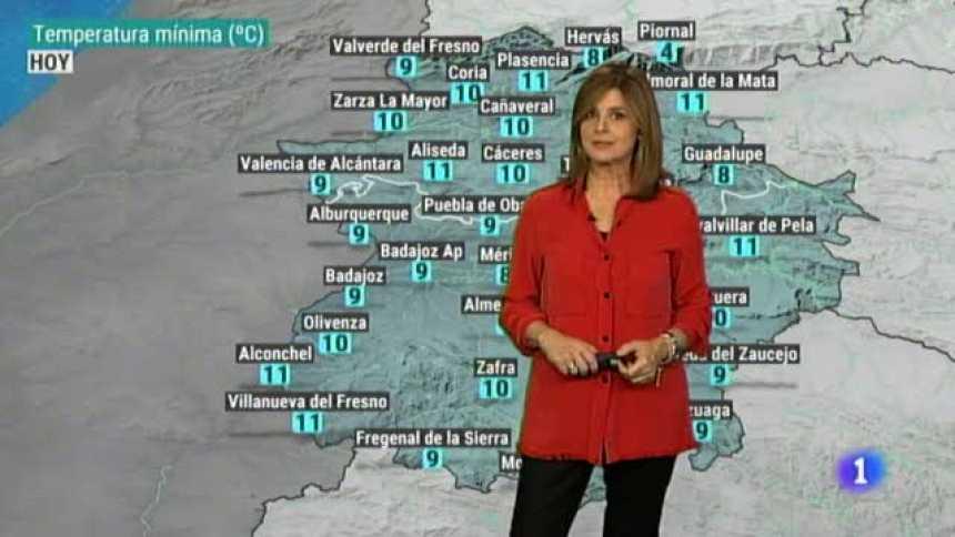 El tiempo en Extremadura - 20/11/18