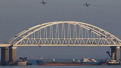 Tensión entre Rusia y Ucrania por el apresamiento de barcos ucranianos en el estrecho de Kerch