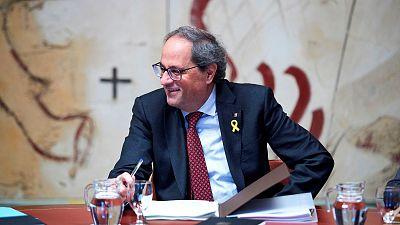 """Torra: """"Tres de cada cuatro euros de la Generalitat se dedican a gasto social"""""""