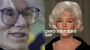 Corto: Marilyn Monroe quiere hablar con Warhol
