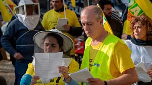 Los apicultores españoles se movilizan para defender el futuro de la miel nacional