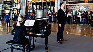 Ópera en el aeropuerto de Barajas