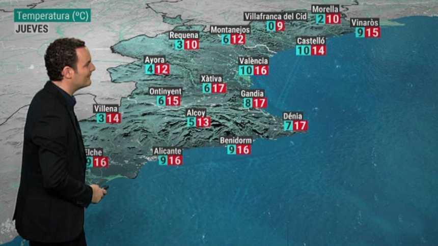 El tiempo en la Comunidad Valenciana - 12/12/18
