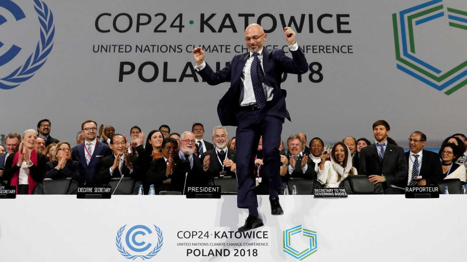 Resultado de imagen de La comunidad internacional ha logrado en la cumbre del clima (COP24) de Katowice (Polonia) sellar las reglas que permitirán aplicar el Acuerdo de París