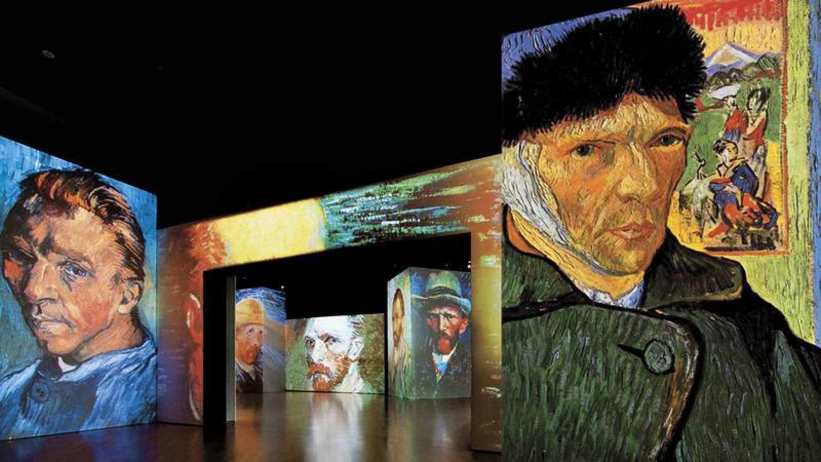 Madrid acoge 'Van Gogh Alive-The Experience', una de las exposiciones multimedia más visitadas del mundo