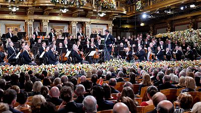Así ha sonado la 'Marcha Radetzky' para cerrar el concierto de Año Nuevo 2019