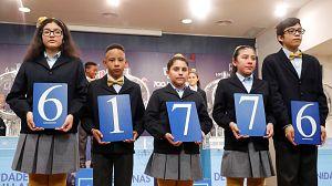 El 61.776, segundo premio del Sorteo Extraordinario del Niño