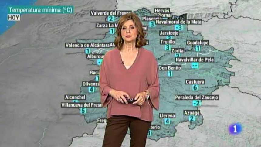 El tiempo en Extremadura - 16/01/19