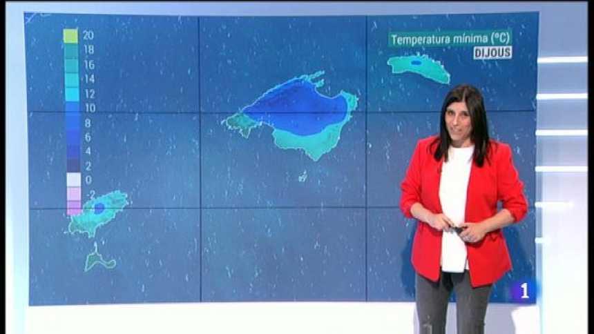 El temps a les Illes Balears - 16/01/19