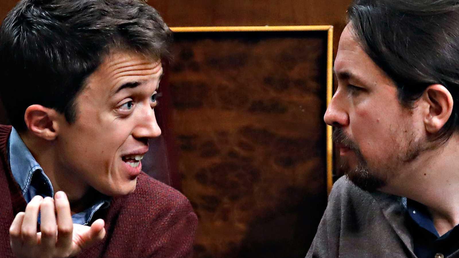 Resultado de imagen de Pablo Iglesias rompe con Errejón y anuncia que Podemos competirá contra él en las autonómicas de Madrid