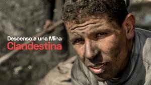 'Descenso a la mina clandestina'