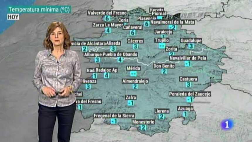 El tiempo en Extremadura - 21/01/19