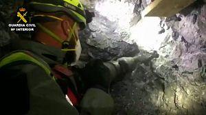 Imágenes del rescate de Julen en el interior del túnel